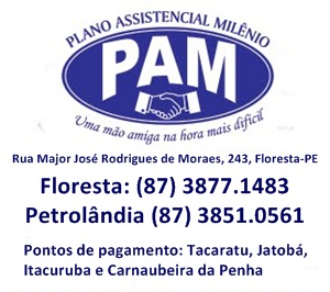 Pam - plano assistencial milenio floresta-pernambuco logo blog do elvis