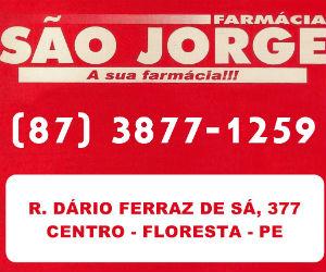 farmacia sao jorge floresta-pe BLOG DO ELVIS