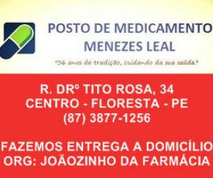 posto de medicamento menezes leal floresta-pe BLOG DO ELVIS