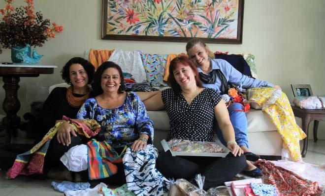Projeto de costurar vestidos em algodão para meninas do Sertão pernambucano ganha reforço