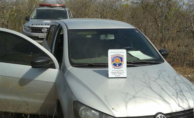 carro roubado nas obras da transposicao do rio sao francisco encontrado em terra nova pernambuco