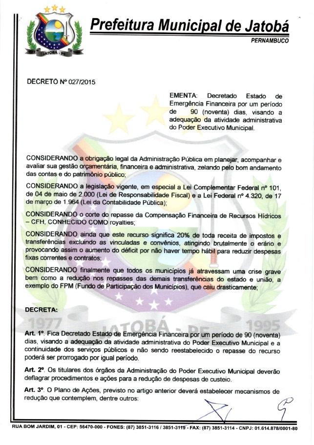 prefeitura de jatoba-pe decreto emergencia crise economica (1)