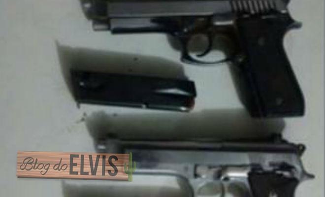 arma e moto apreendida policia 1