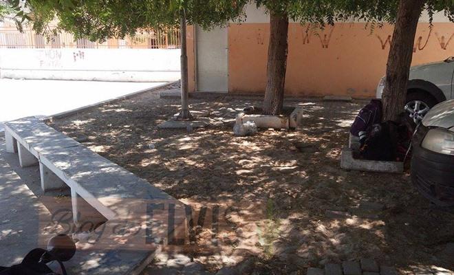 vandalismo na quadra da rua 15 de novembro em floresta-pe (4)