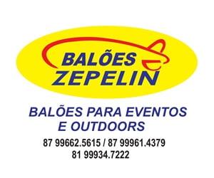 Balões Infláveis Zepelin em Serra Talhada-PE